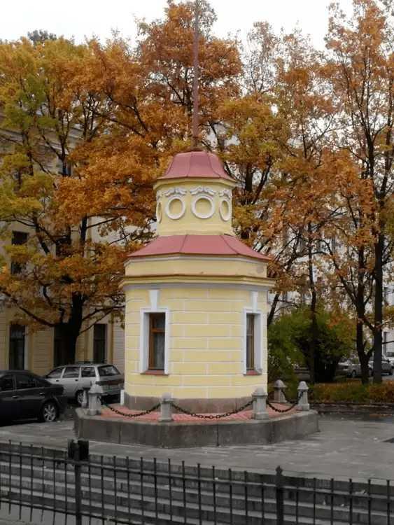 7. Кронштадтский футшток и здание мареографа